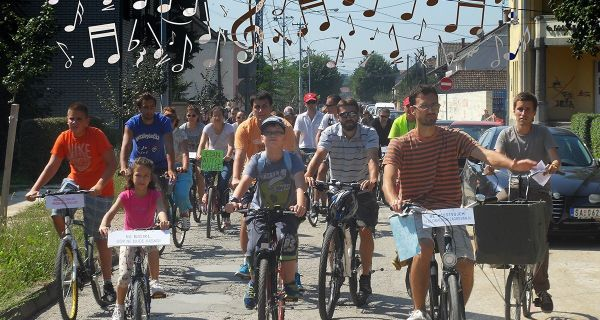 Letnje bicikliranje u Šapcu