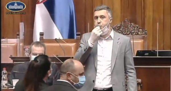 Обрадовић звиждао, Маја Гојковић прекинула седницу