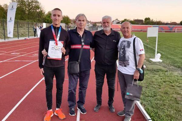 Todorović do seniorske medalje