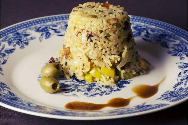 Rižoto sa kukuruzom, piletinom i sirom