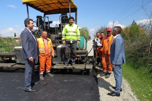 Počela rekonstrukcija puta Bogosavac - Radovašnica