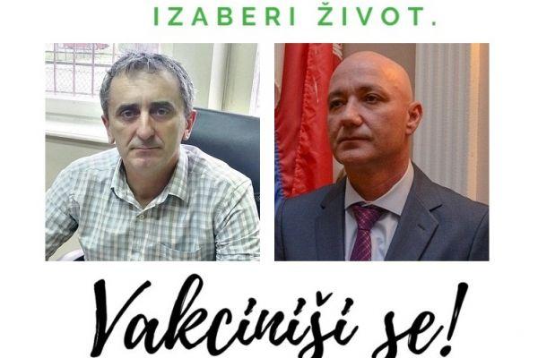 Funkcioneri Opštine Bogatić: Izaberi život, vakciniši se