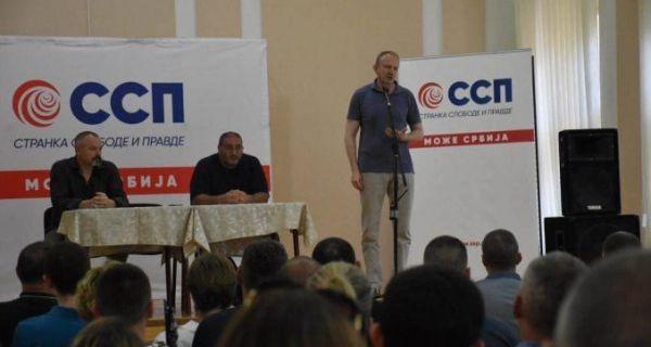 Формиран Иницијативни одбор Странке слободе и правде у Шапцу: Споразум са народом обавезује