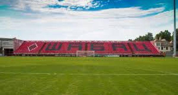 Нова трава на стадиону у Шапцу