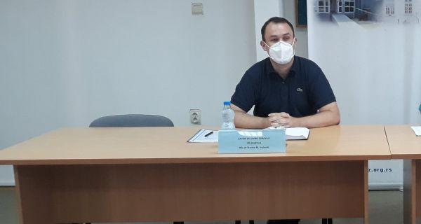 Vujković: U borbi protiv kovida, ljudski resursi su najvažniji