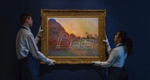 Монеова слика продата за 110,7 милиона долара
