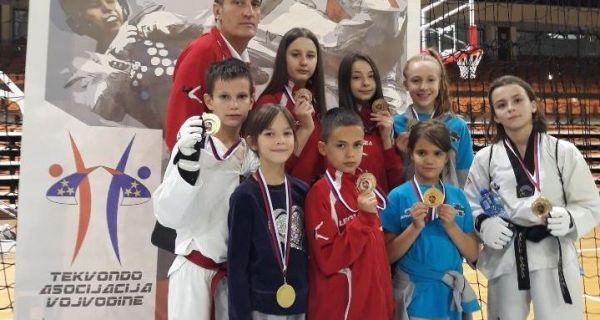 Medalje sa Prvenstva Vojvodine