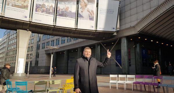"""Zelenović na tribini """"Srbija u trci za slobodne izbore"""" u Evropskom parlamentu"""