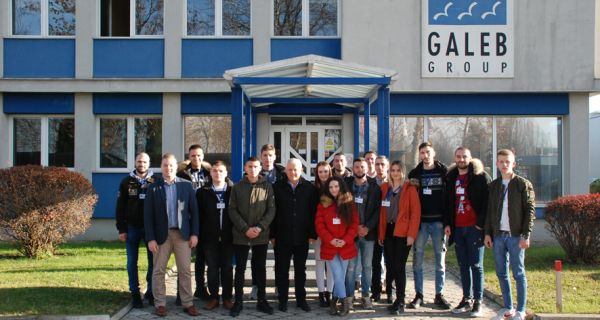"Студенти из Косовске Митровице посетили ""Галеб"""