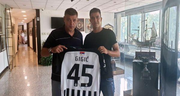 Gigić napustio Mačvu i prešao u Partizan