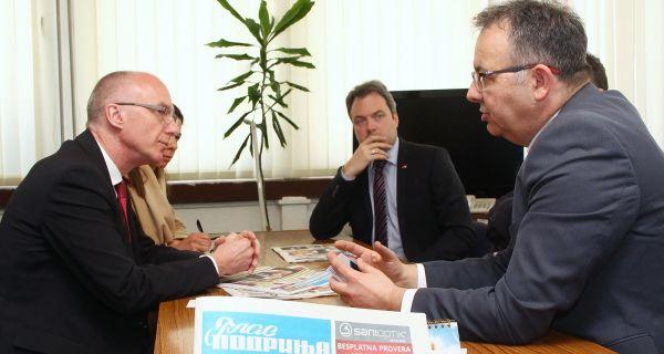 Амбасадор Шиб посетио Глас Подриња