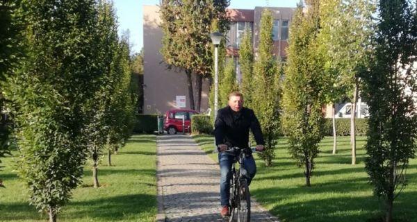 Gradonačelnik Nebojša Zelenović promoviše zdrave stilove života