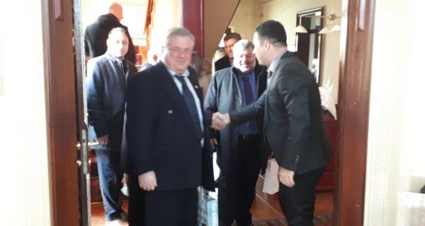 Данас у Градској кући уприличен пријем за делегацију из Аргостолија