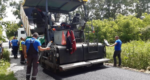 Novi kilometri  asfalta u Vranjskoj