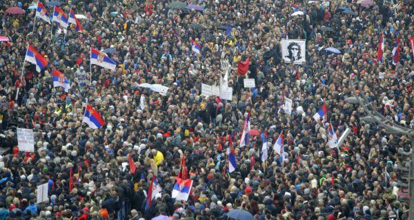 Завршен скуп опозиције у Београду након више од четири и по сата