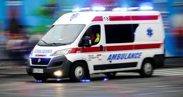 Тешка саобраћајна незгода у Горњој Врањској
