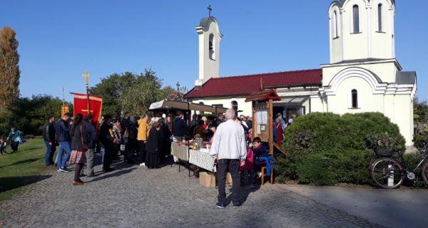 Hram Svete Petke na Savi proslavio svoju svetiteljku