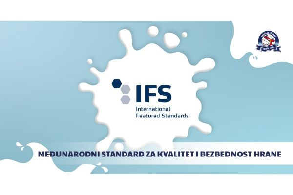 Mlekara Šabac dobila svetski sertifikat za kvalitet i bezbednost proizvoda