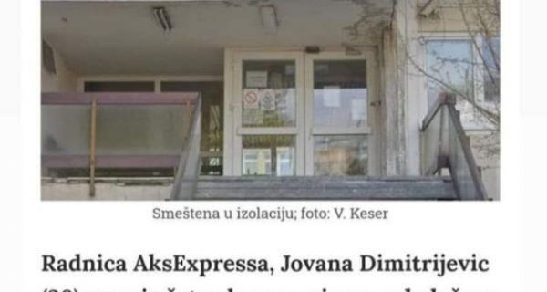 Direktor ZZJZ Šabac: Krivična prijava protiv NN lica za širenje lažnih informacija