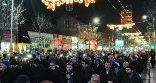 Шетња за Оливера У београду