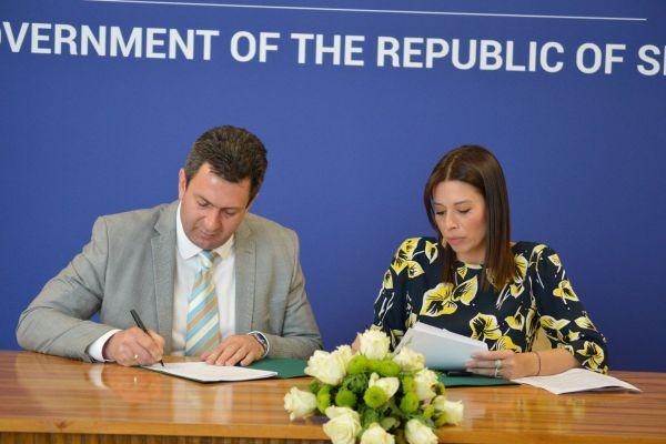 Potpisan ugovor u Ministarstvu zaštite životne sredine: Sredstva će biti uložena u sanaciju zemljišta na Starom gradu