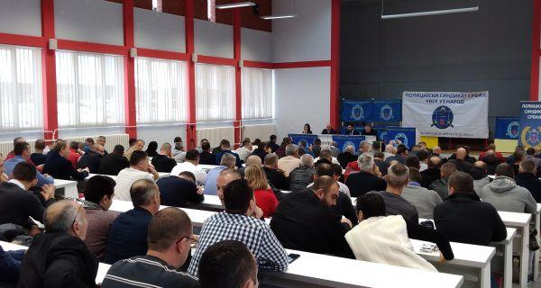 Изборна скупштина Полицијског синдиката у Шапцу