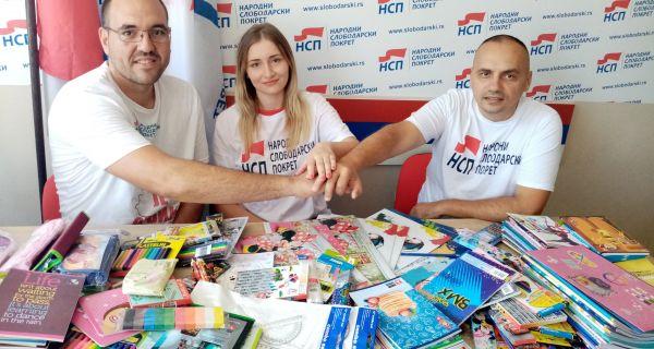Šabački Slobodari za srpsku decu na Kosovu i Metohiji