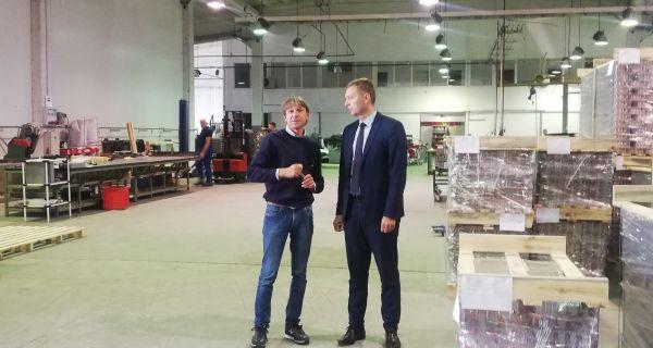 Gradonačelnik Zelenović posetio novootvorenu firmu Refrion