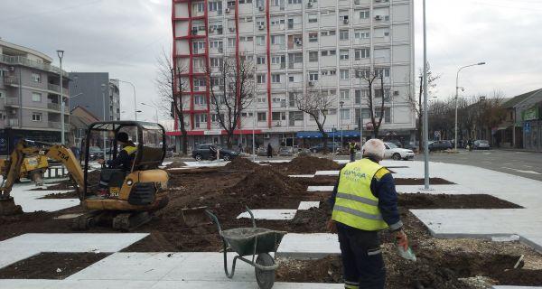 Radovi na Vinaverovom trgu u završnoj fazi