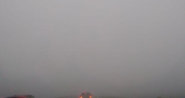 Велика магла на путу