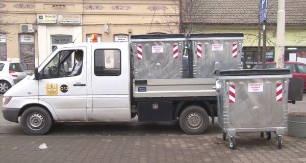 """ЈКП """"Стари град"""" обавља замену контејнера"""