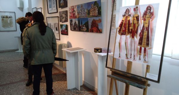 """Izložba """"Pravoslavlje u Školi primenjenih umetnosti"""