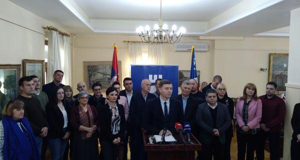 Зеленовић: Донели смо одлуку да бранимо нормалан живот у Шапцу
