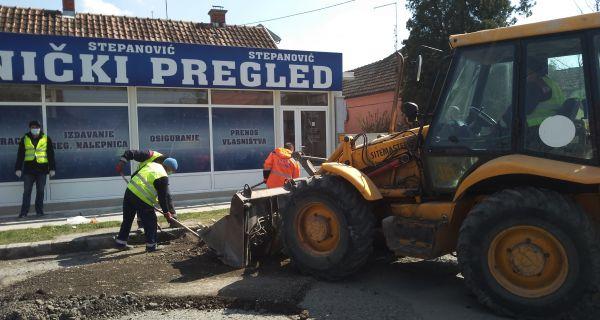 Rekonstrukcija kolovoza u ulici Milutina Bojića