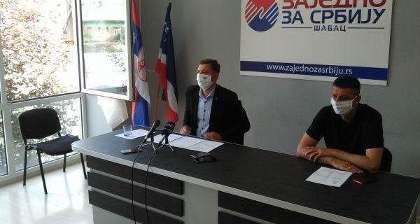 Зеленовић: Шабац ће одбранити слободу