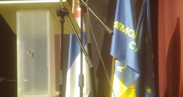 Glavni odbor DS zaseda u Šapcu