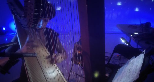 Muzika harfe, boja i efekata