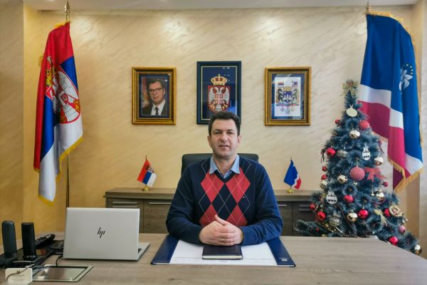 Божићна честитка градоначелника Шапца, др Александра Пајића