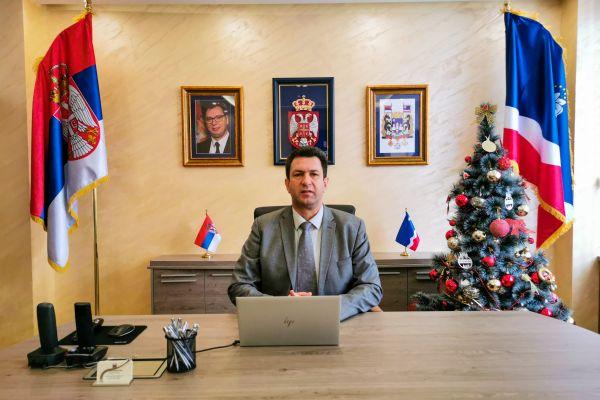 Честитка градоначелника Шапца, др Александра Пајића