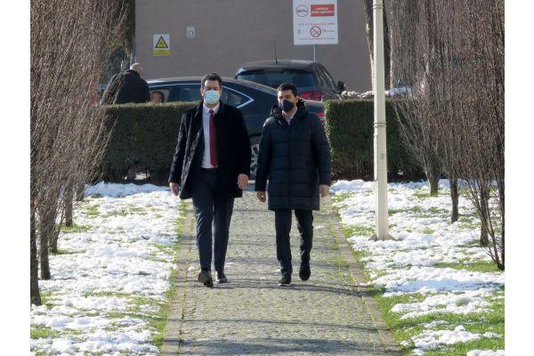 Сарадња Шапца и Ваљева: Састанак градоначелника др Александра Пајића и  градоначелника Лазара Гојковића