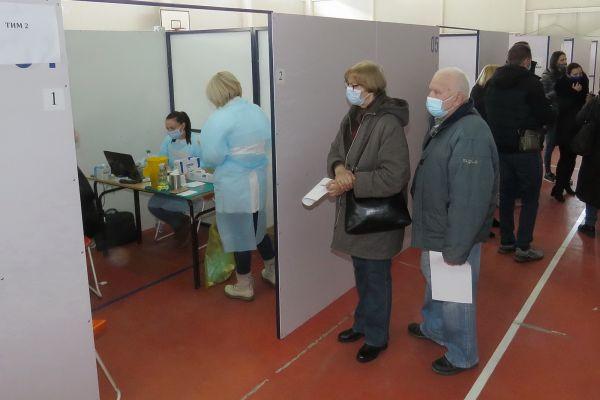 Veliko interesovanje Šapčana za vakcinu