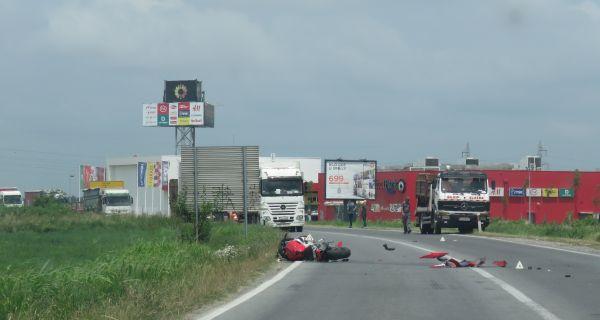 Мотоциклиста повређен у саобраћајној незгоди