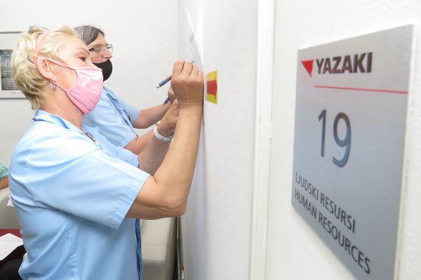 """Ревакцинација и још један круг вакцинације у """"Јазакију"""""""