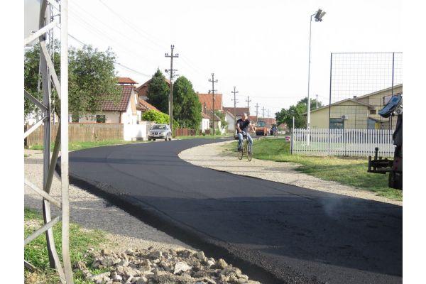 Završeno asfaltiranje u Jevremovcu
