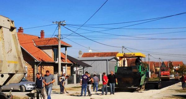 Улица Степе Степановића најзад добила асфалт