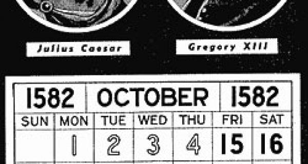 Јулијански календар замењен пре једног века