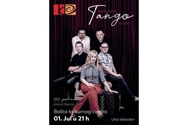 Koncert Tango kvinteta iz Novog Sada sutra u Kulturnom centru