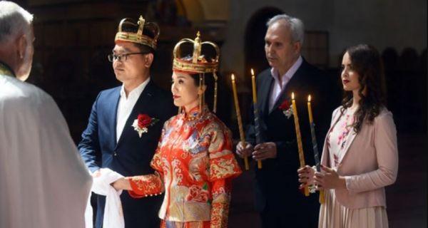 Први пут у историји храма Светог Марка: Кинези се заклели на верност