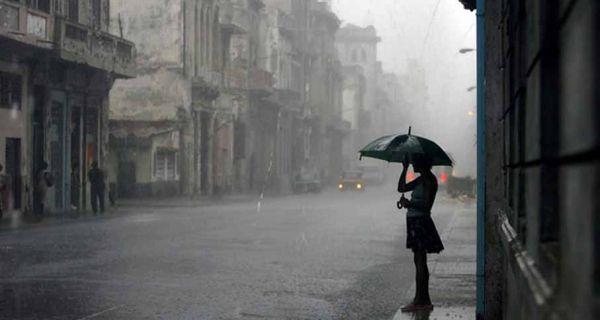 Поподне наоблачење са кишом