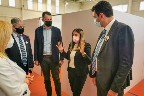 Саопштење кабинета МУО: Обилазак вакциналног пункта у Економској